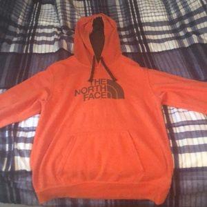 Orange North Face Hoodie